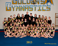 GOLDEN'S GYM - 2013