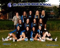 ST FRANCIS G VOLLEYBALL 2013