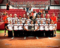 BEECHER SOFTBALL SUPER-SECT CHAMP 2014