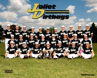 JOLIET DIRTBAGS - TEAM AND INDIVIDUALS 2016